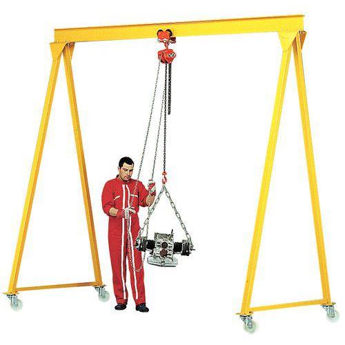 Pórtico de oficina - Capacidade 500 a 5000 kg - Altura 4 m