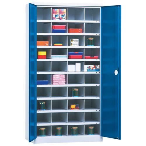 Armário com portas corrediças 1000 - 40 compartimentos