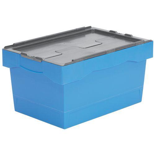 Caixa de transporte com código de cores – 600mm de comprimento – 38 a 55L
