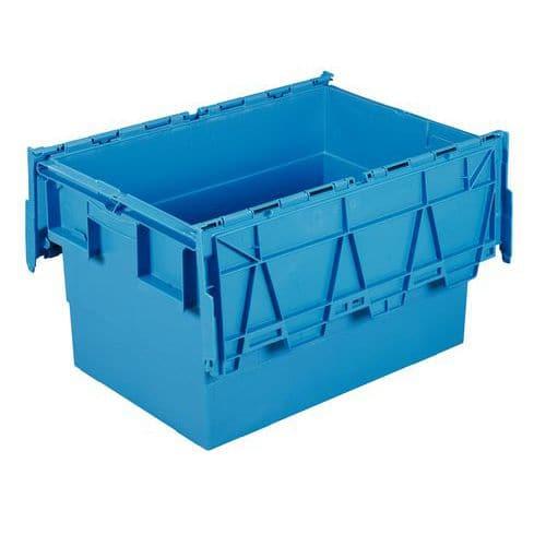 Caixa de transporte Integra®  - Comprimento 600 mm - Turquesa