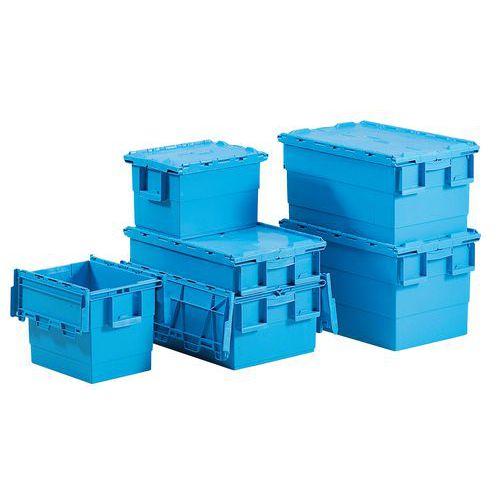 Caixa de transporte Integra®  - Comprimento 400 mm - Turquesa