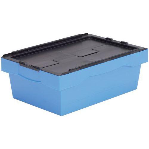 Caixa de transporte com código de cor - Comprimento 600 mm