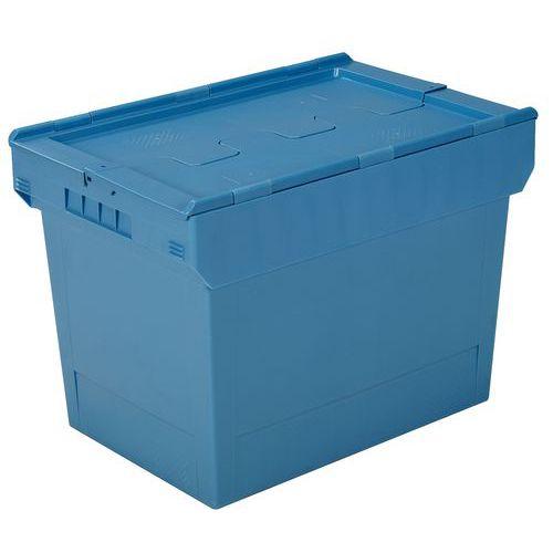 Caixa multifunções com tampa de dupla aba - Comprimento: 600 mm