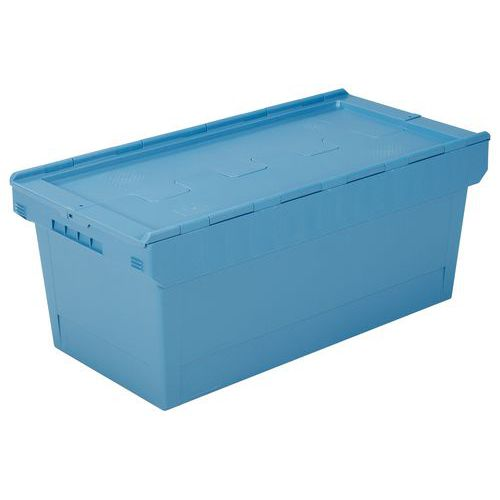 Caixa multifunções com tampa de dupla aba - Comprimento: 800 mm