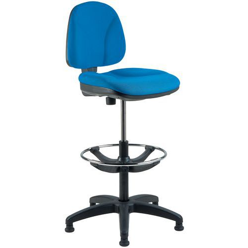 Cadeira de oficina alta – Ergonómica