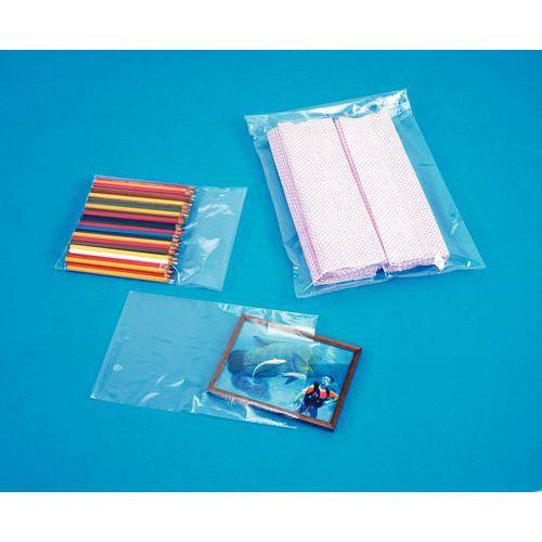 Saqueta plástica neutra Minigrip® - 50 µm
