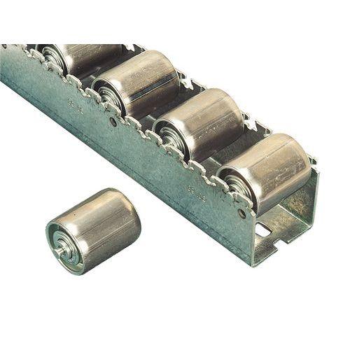 Calha de roletes em aço para cargas pesadas – 2400mm de comprimento – Bito