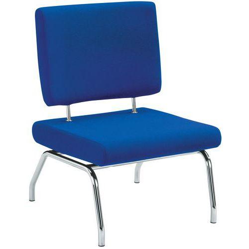 Cadeira de receção em tecido Altea – 1 lugar