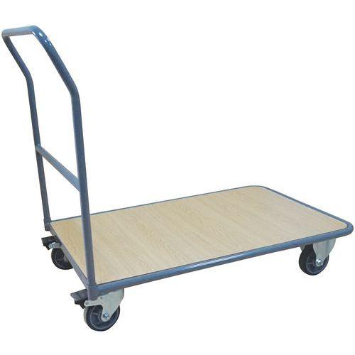 Carro de aço – 1 espaldar fixo – Capacidade: 250kg – Manutan