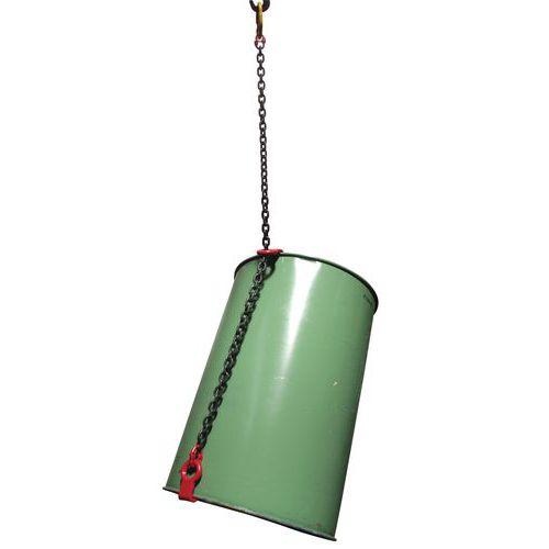 Linga para bidões - Capacidade de 500 a 1000 kg - Basculamento