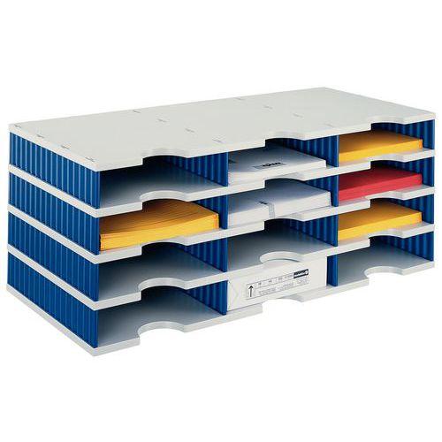 Sistema de arrumação Styrodoc - 12 compartimentos