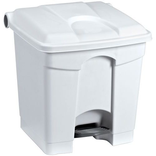 Caixote do lixo em plástico - 30 L - Manutan