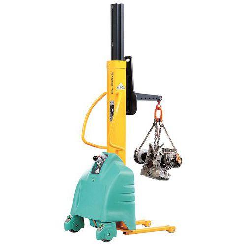Empilhador semielétrico ergonómico – Capacidade:250 kg