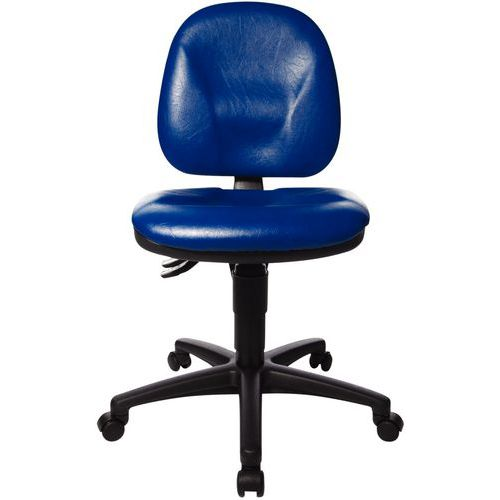 Cadeira TEC - Baixa - Base com rodízios