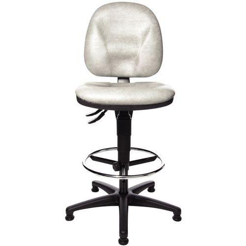 Cadeira ergonómica TEC – Alta – Com calços
