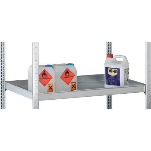 Prateleira para estante com caixas de retenção Easy-Fix