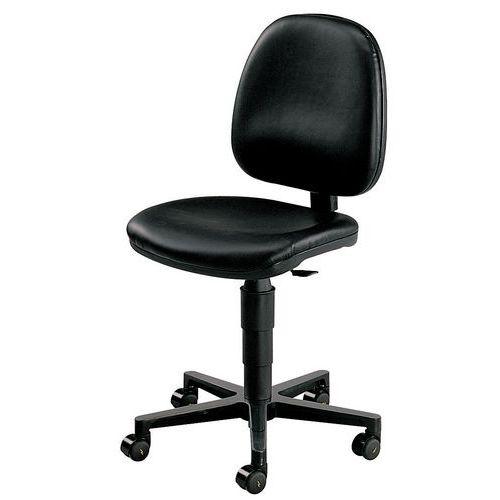 Cadeira de oficina antiestática e ergonómica – baixa – com rodízios