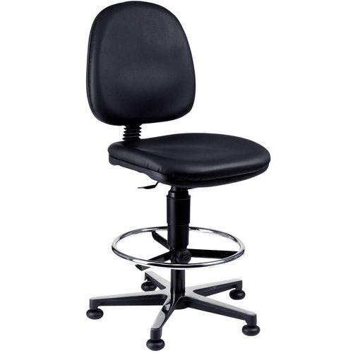 Cadeira de oficina antiestática e ergonómica – Alta – Com rodas