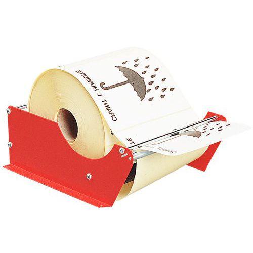 Distribuidor manual de etiquetas - De fixar