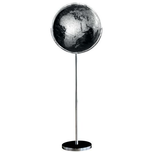 Globo geopolítico multidirecional decorativo – Com base