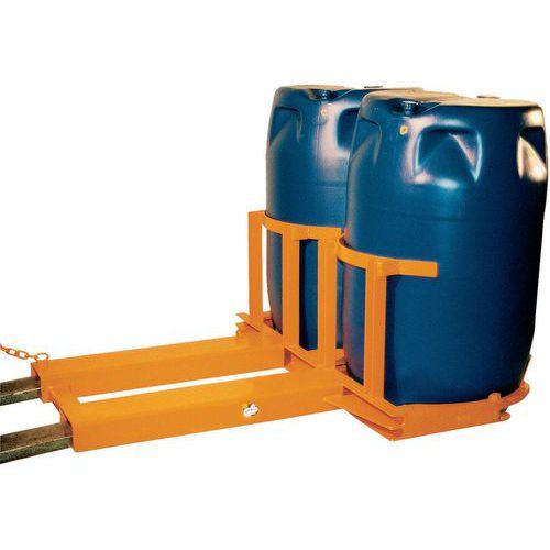 Elevador de bidões de 120 a 220L – capacidade de 300 a 720kg
