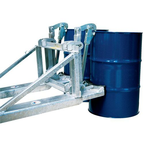 Elevador para bidões – Capacidade de carga: 800 a 1600kg