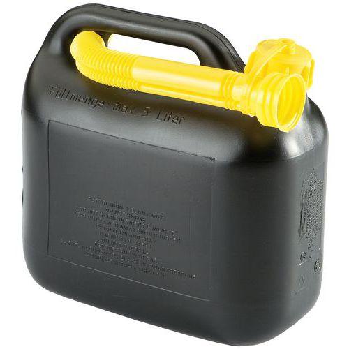 Jerricã para combustível com bico de descarga – 10 a 20L