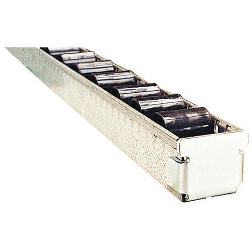 Batente para calhas de roletes e rolos de plástico para cargas pesadas – Bito