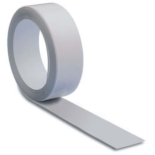 Fita magnética Ferro – Modelo metálico e adesivo – Branca