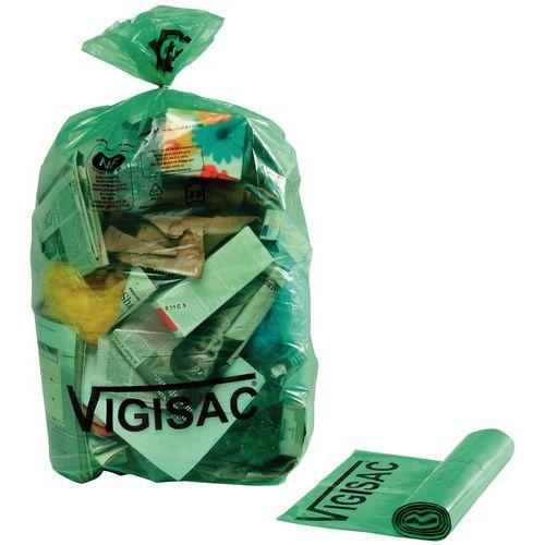 Saco de lixo preto Vigipirate – resíduos pesados – 110L