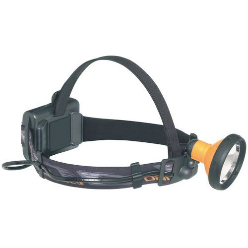 Lanterna frontal de halogéneo Enduro - 2400 Lux