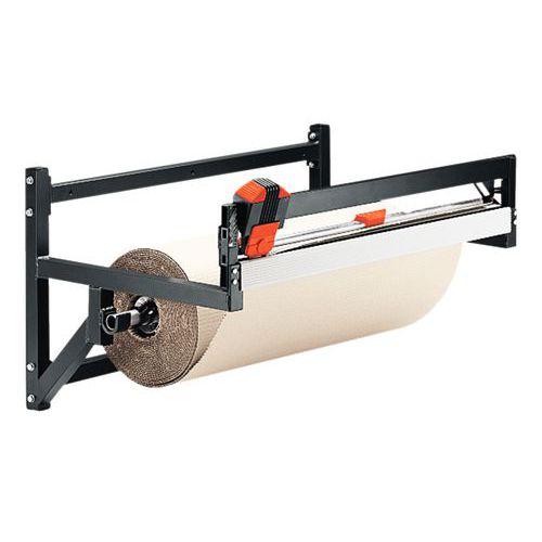 Desenrolador-cortador horizontal de parede - Rolo Ø 500 máx.