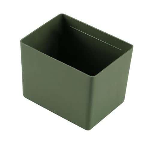 Compartimentos para blocos-gavetas - Verdes
