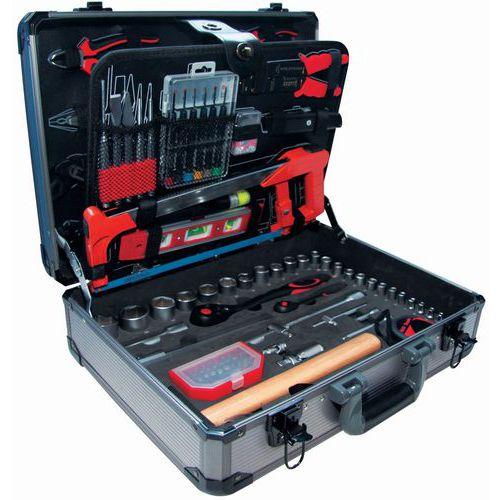 Caixa de ferramentas - 127 peças