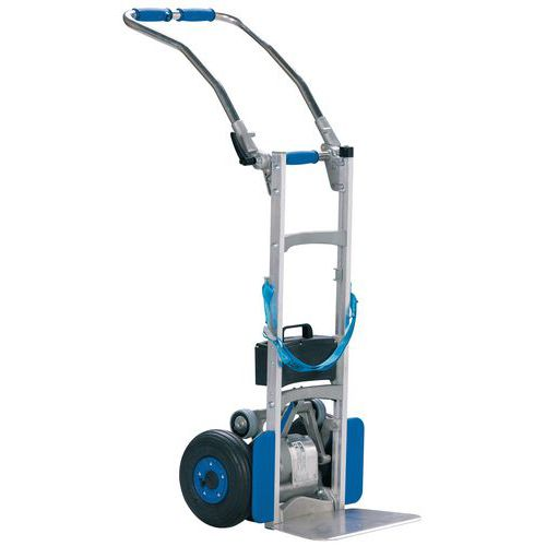 Transportador motorizado para escadas – capacidade de 110 kg