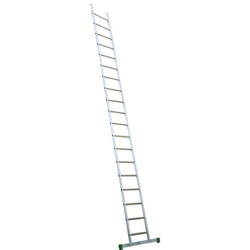 Escada em alumínio com barra de estabilização
