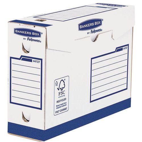 Caixa de arquivo manual Bankers Box Heavy Duty A4+