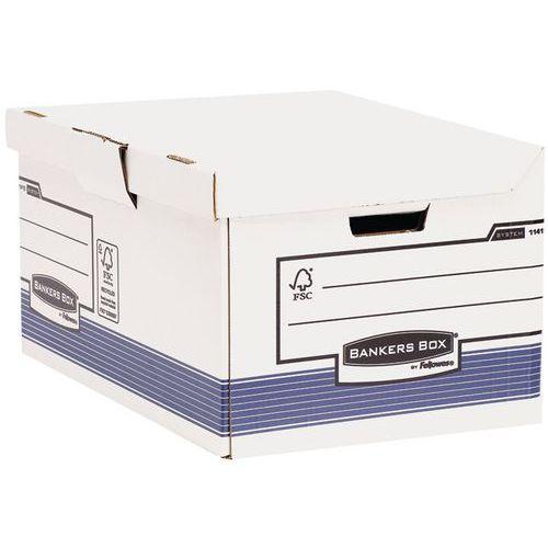 Compartimento para caixas de arquivo Bankers Box automáticas A4+