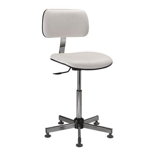 Cadeira de laboratório ergonómica – Baixa – Com rodas