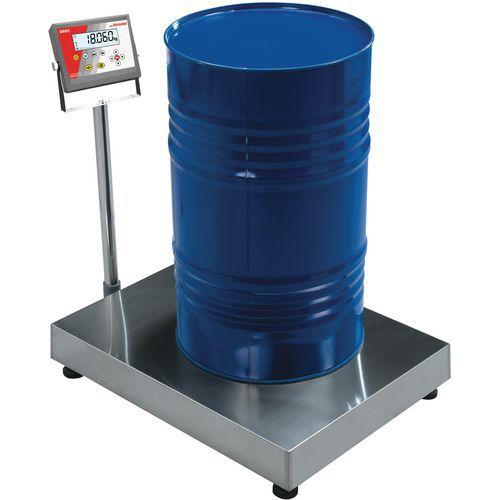 Balança de receção com coluna - Capacidade de 60 kg