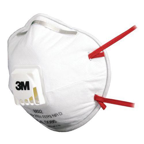 Semimáscara respiratória com capa de utilização única 3M – FFP3