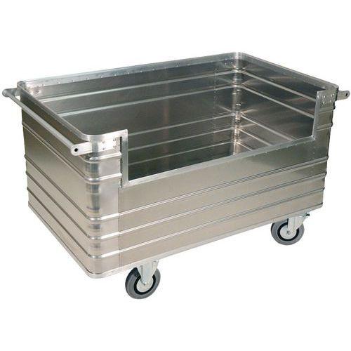 Carro painéis alumínio - Painel semiaberto