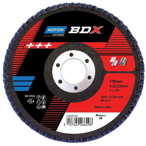 Disco de lamelas bombeado BDX - R842 - Grão de 40 a 80