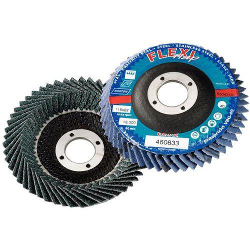 Disco de lamelas FLEXI - Grão de 40 a 80