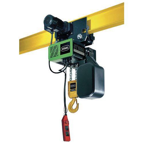 Diferencial elétrico em carro manual – capacidade: 1000 a 5000 kg – Stahl CraneSystems