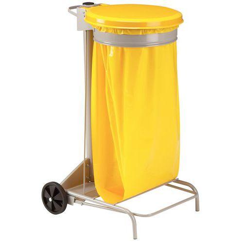 Suporte para saco de lixo de separação – 110 L