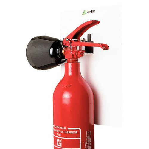Suporte magnético para extintores