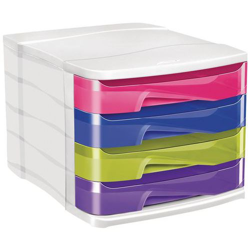 Módulo de arquivo Cepbox - 4 gavetas