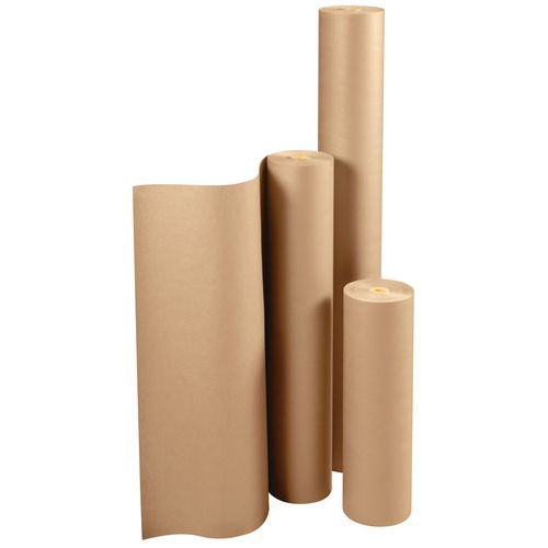Papel kraft - Natural - Rolo - 90 g/m²