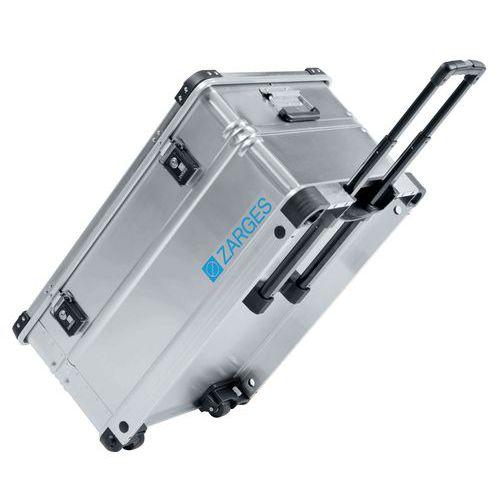 Caixa de transporte em alumínio com rodízios – 28 a 195L – modelo K424 XC